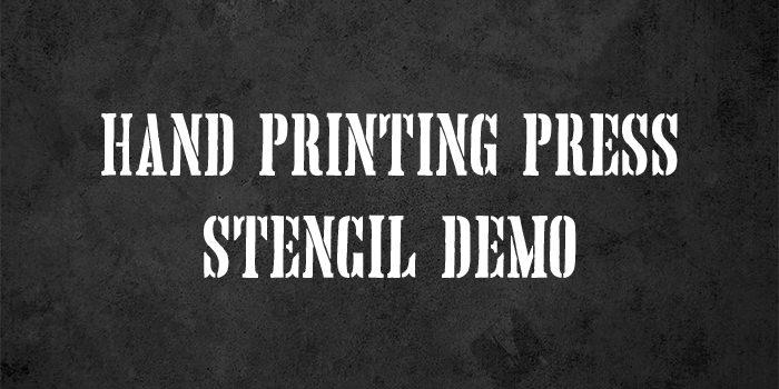 hand printing press1