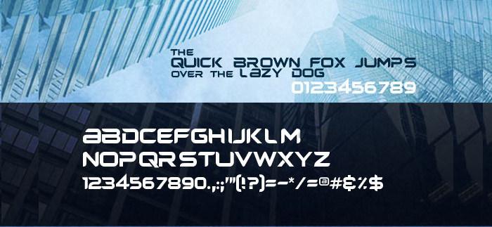 Headplane TrueType Font