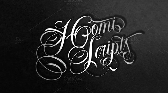 20 Best Cursive Tattoo Fonts Free Premium Templates