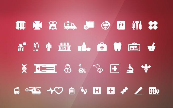 Hospital Icon Font