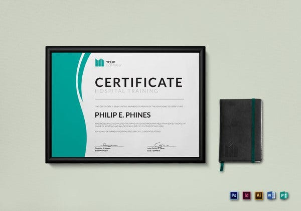 hospital-training-certificate-illustratortemplate