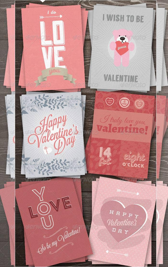 i love you greeting card pack for 2015 valentine