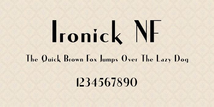 ironick nf