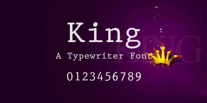 king font