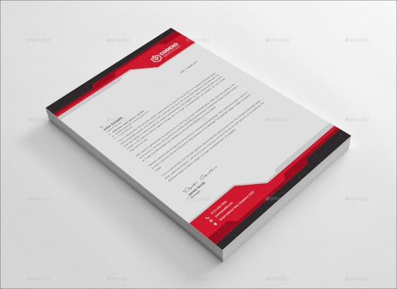 letterhead for business template download
