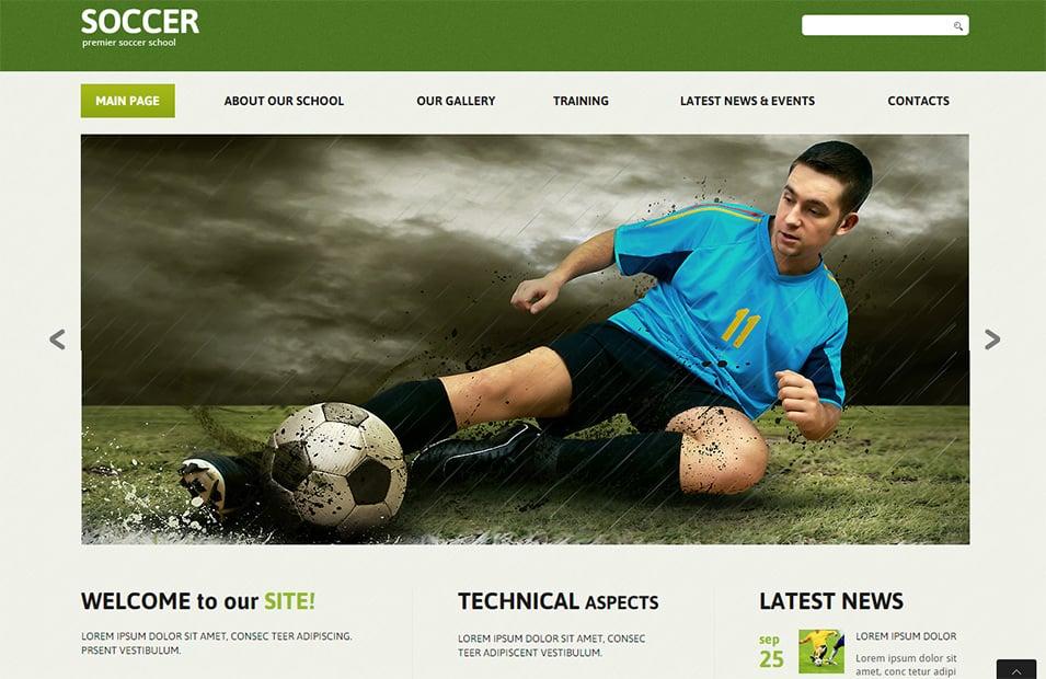 Lt soccer – free responsive joomla soccer theme.