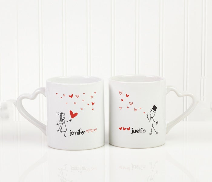 love personalized mug set