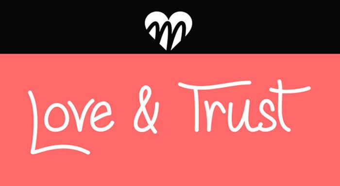 love trust font
