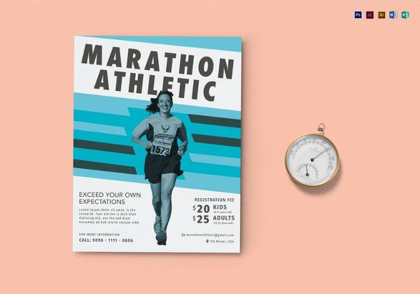 marathon-flyer-template