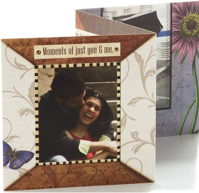 moments of just you me valentines day card