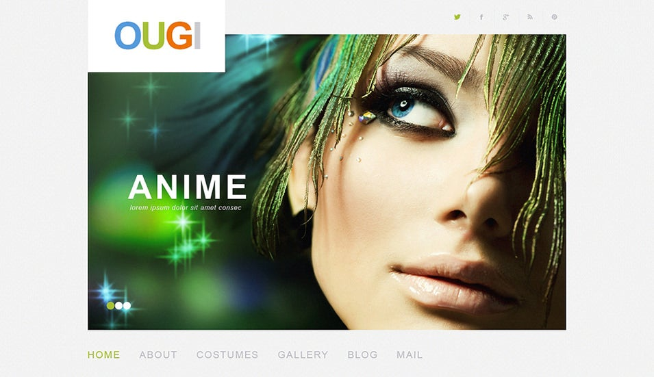 Movie WordPress Theme anime