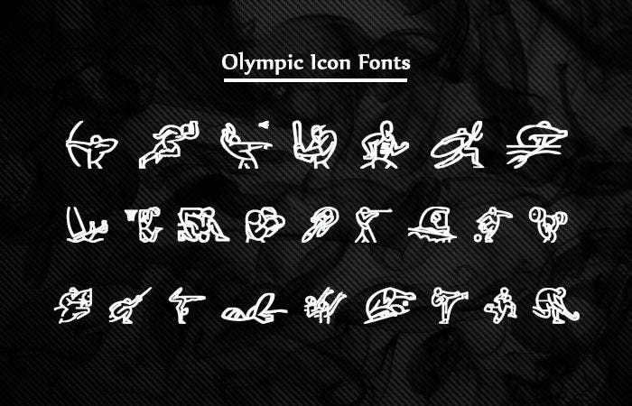 Olympic Spots Icon