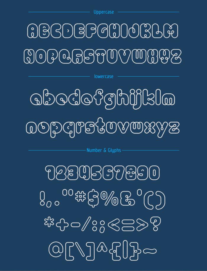 PIO Rounded TrueType Font