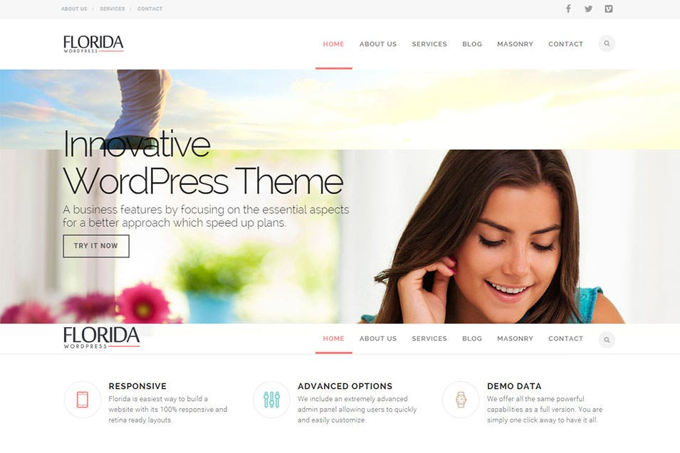 Perdido Just another WordPress Template