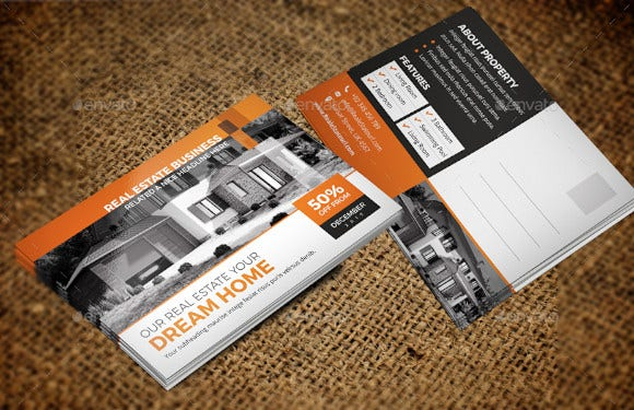 real estate postcard design1