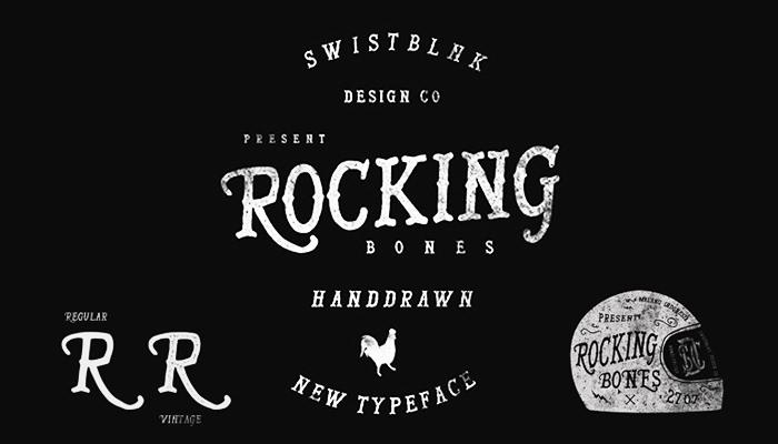 Rocking Bones_Serif Font