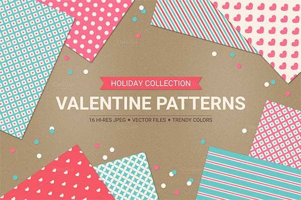 seamless valentine crochet patterns