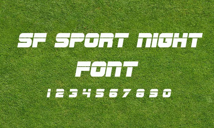 sf sport fonts