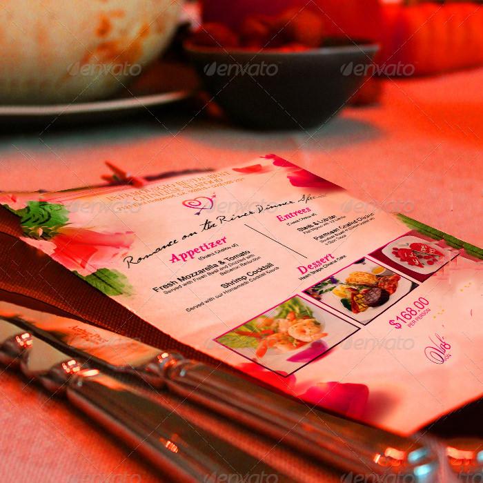 st valentines menu 2