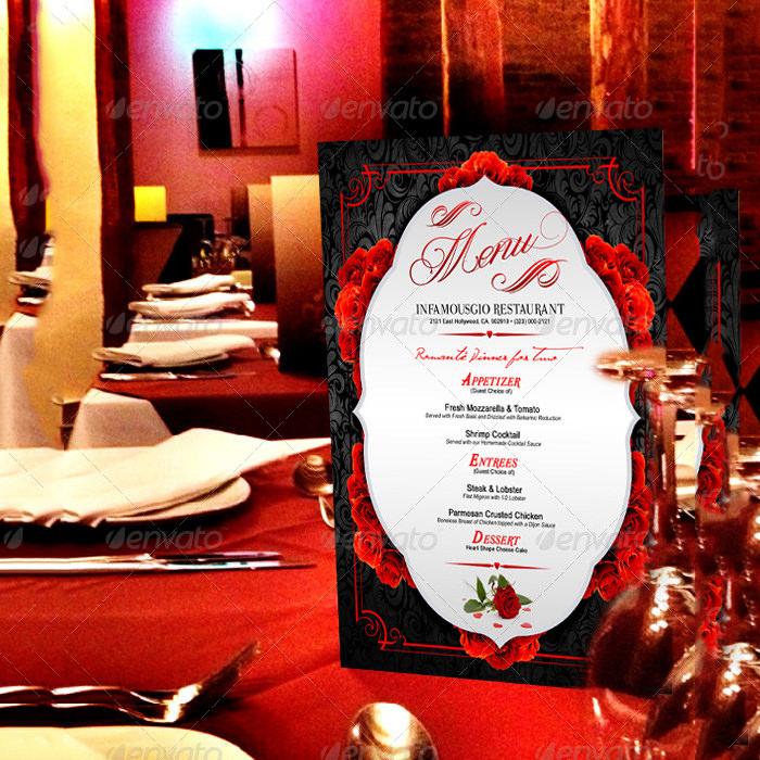 st valentines menu 3