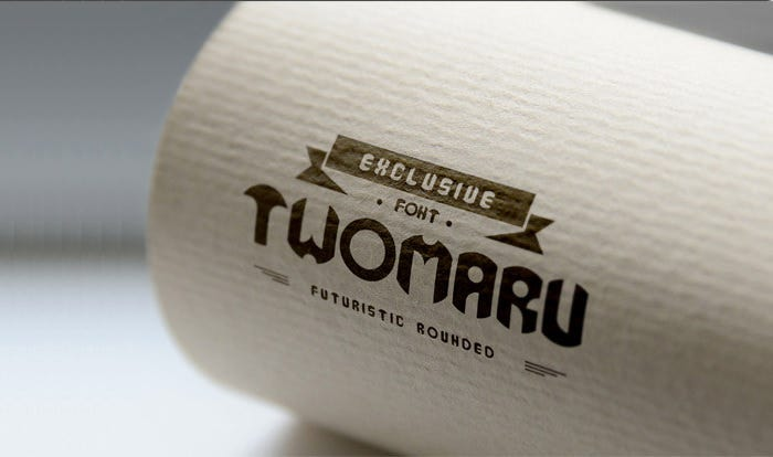 Twomaru Rounded Font