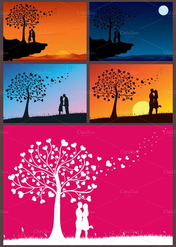 ultimate valentines day design bundle psd