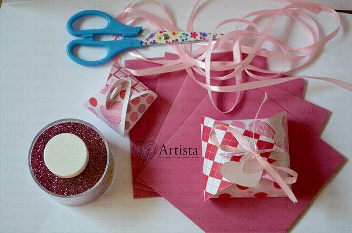 valentine digital scrapbook and craft