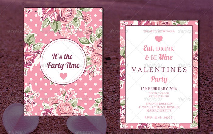 valentine invitation card 2