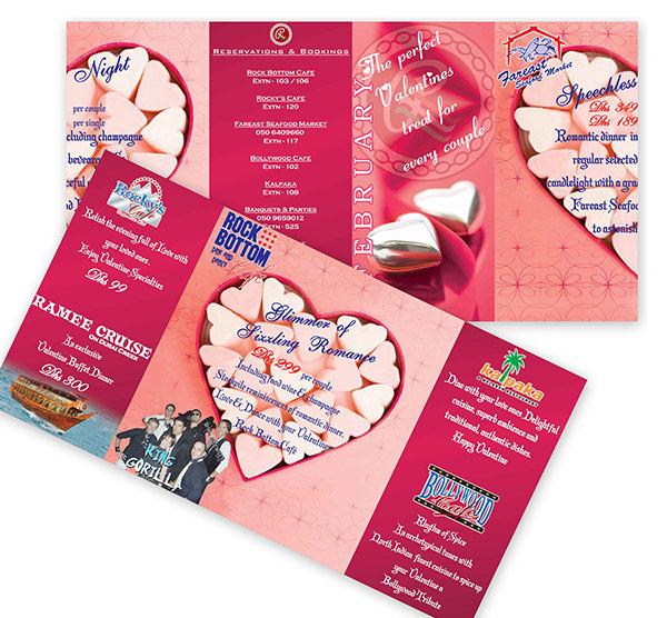 valentine brochure