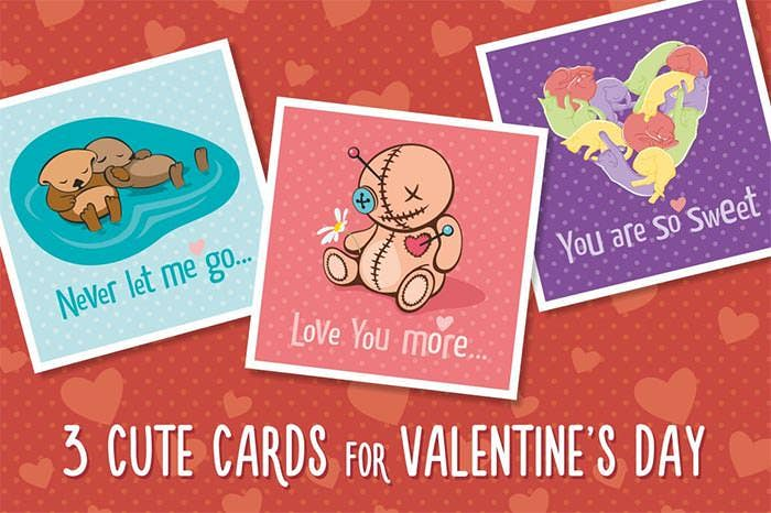 valentines day beautiful greeting cards