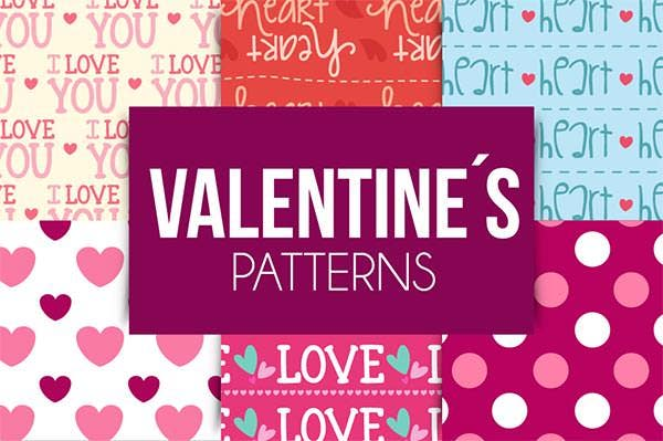 valentines day patterns download