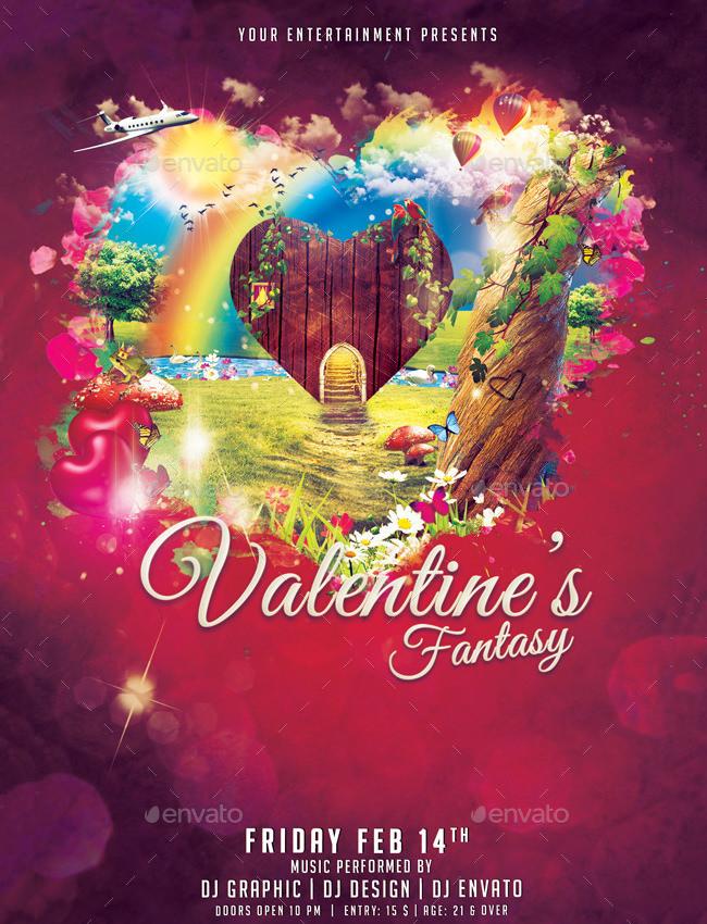 valentines fantasy flyer