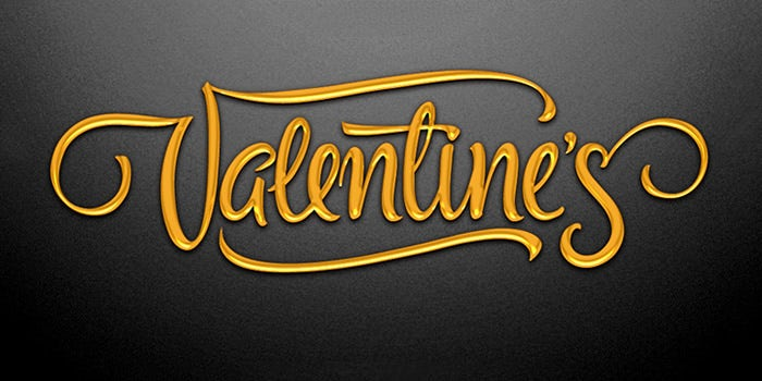 valentines font 2