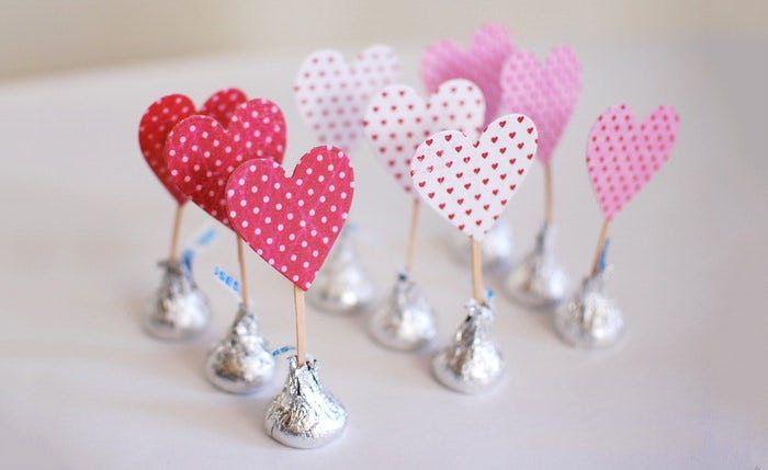 Construction Paper Valentine Crafts