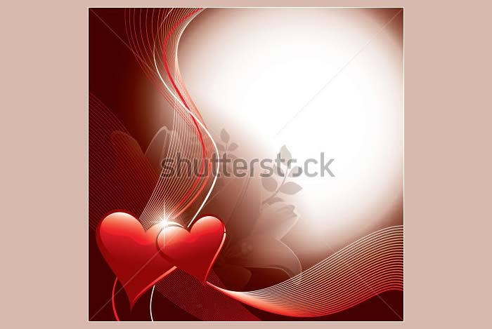 vector valentines background