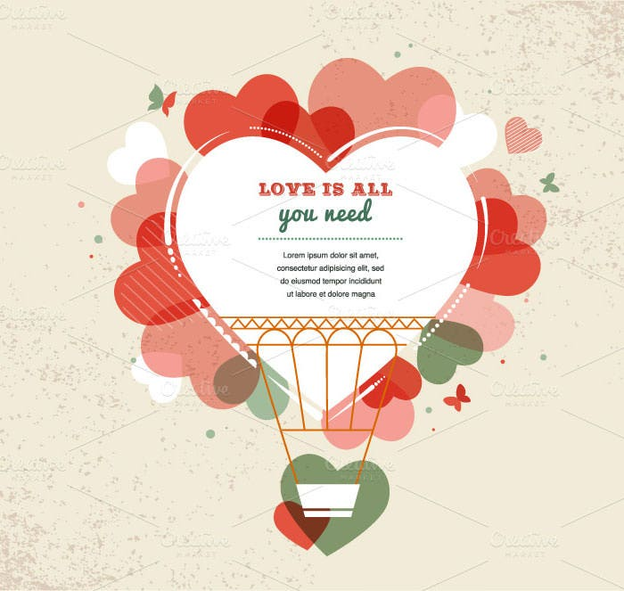 vintage valentines day backgrounds
