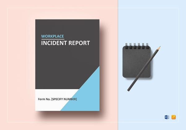 workplace incident report template in word1