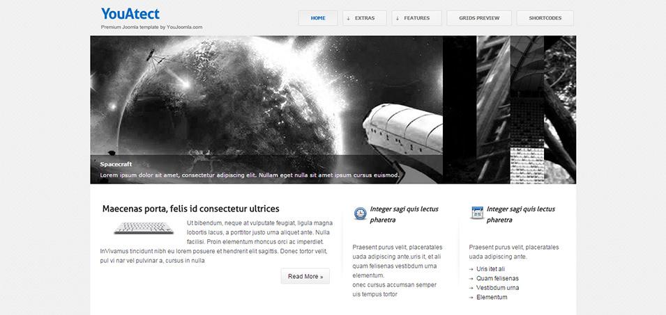 youatect yjsimplegrid joomla templates framework demo