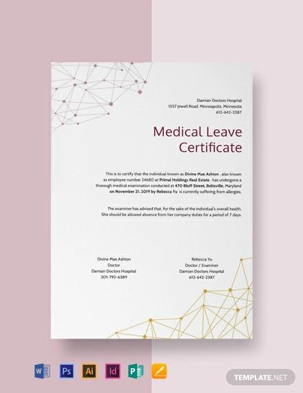 free medical leave