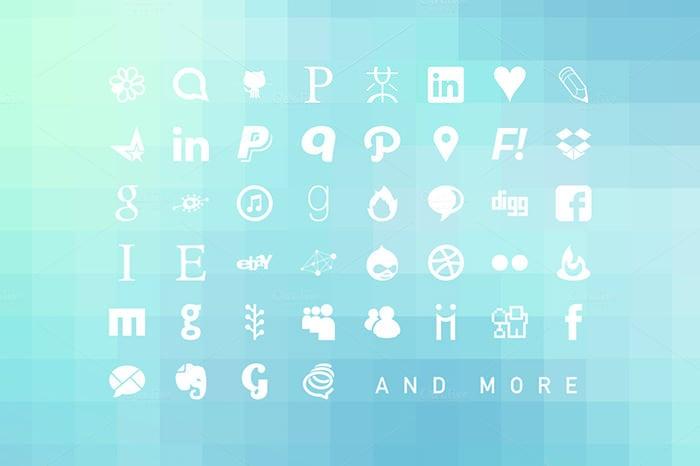 Social Icons Web Font