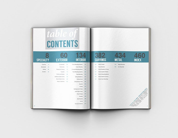 table of contents design templates koni polycode co