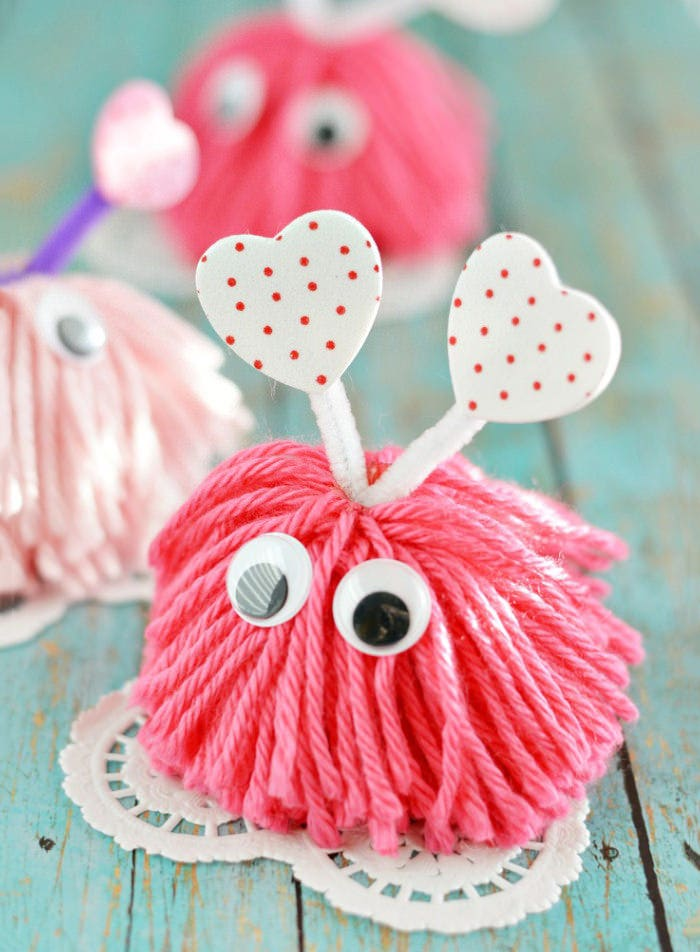 valentine craft monsters