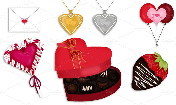 valentines craft template