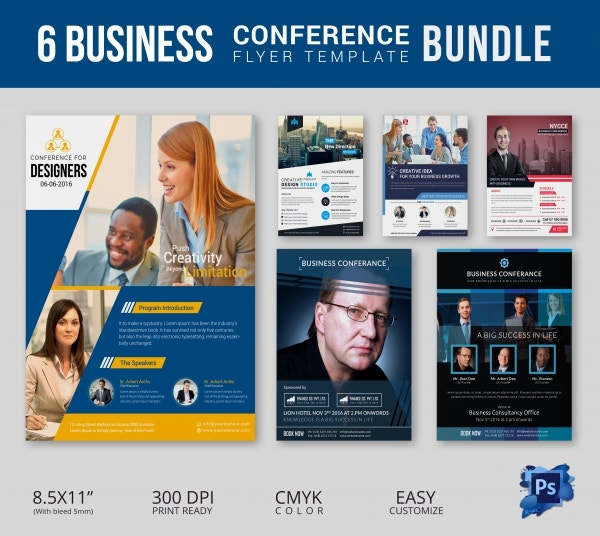 Business Conference Flyer Bundle