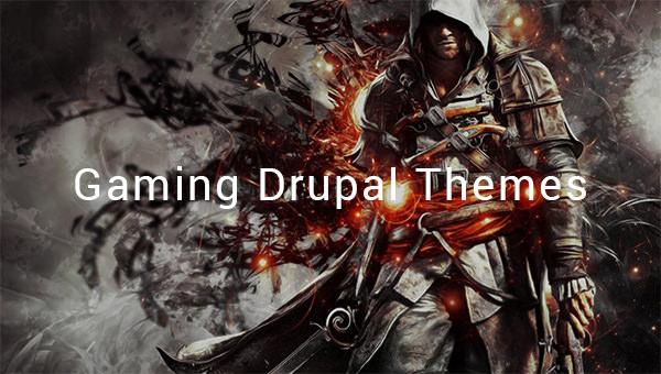 gaming drupal themes