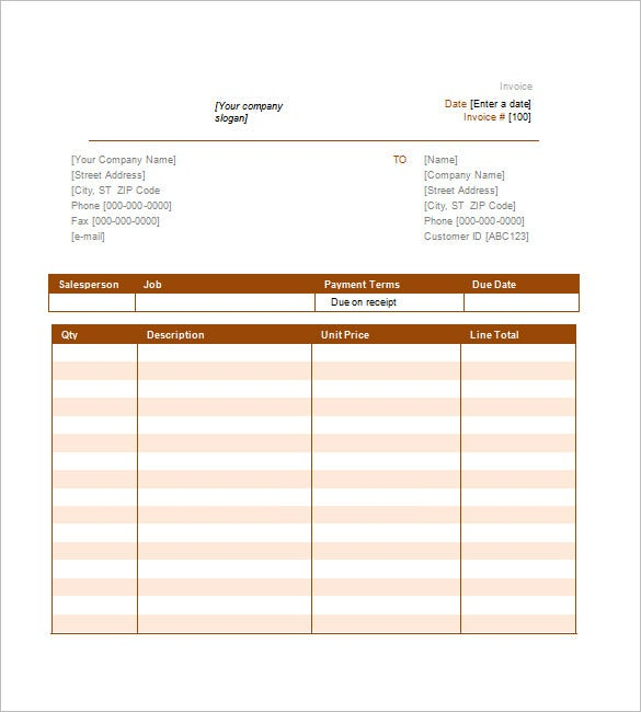 simple invoice template free, Invoice templates
