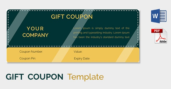 Blank Coupon5