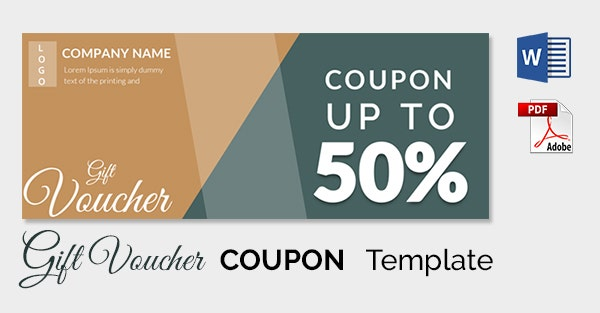 Blank Coupon Template 21 Free PSD Word EPS JPEG Format – Coupon Template for Word