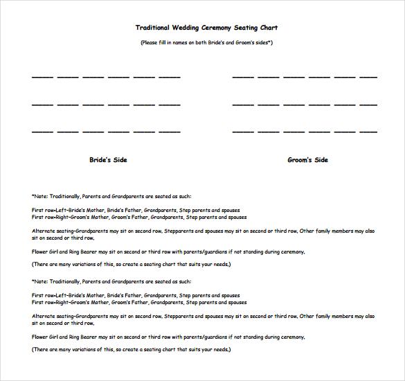 Doc949632 Wedding Seating Chart Template Word Wedding Seating – Wedding Seating Plan Template Word
