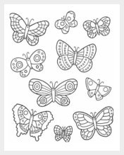 1545 free animal templates printable animal crafts colouring butterfly cut out printable template maxwellsz